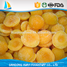 high quality frozen yellow peach