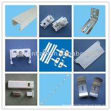 Accesorios de persianas verticales, accesorio de cortina, percha de 100mm + espaciador + peso del cable, componentes de persiana vertical
