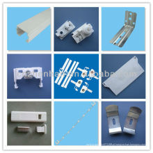 Acessórios para cortinas verticais, acessórios para cortinas, cabides de 100mm + espaçador + peso de cabos, componentes para cortinas verticais