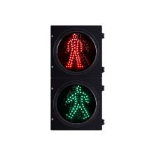 Semáforo LED verde rojo peatonal de alta calidad de 200 mm