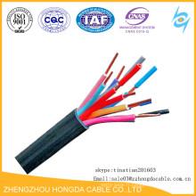 PVC de noyau de cuivre / plastique isolé aucun câble de commande de veste