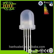 El precio de fábrica libera las muestras diodos difundidos llevados rgb de 5m m 8m m 10m m (CE y RoHS obedientes)