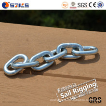 Marine Hardware Acero al carbono DIN766 Short Link Chain