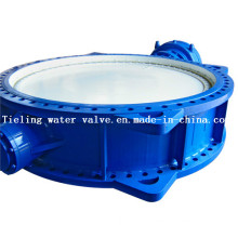 Electric Operation Ductile Iron Flanged Butterfly Valve