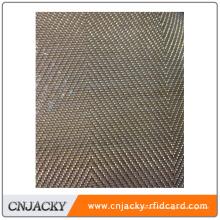 Almohadilla de laminación para tarjetas de PVC hechas con alambre de cobre