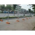 Clôtures temporaires / Revêtement galvanisé à chaud et revêtement en PVC Clôture temporaire / Clôture temporaire