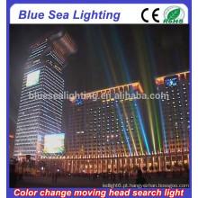 GuangZhou 100pcs x 10W cor de alta potência mudando luz de inundação conduzida ao ar livre