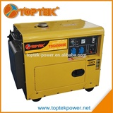 Factory directly 5kw silent diesel generator electric start                                                                                                         Supplier's Choice