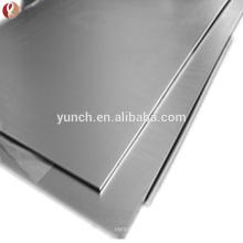 Placa de níquel puro de alta calidad y alta temperatura para la batería