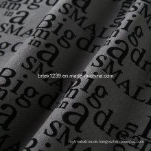 100% Baumwolle 21W Print Velveteen-Like Cord