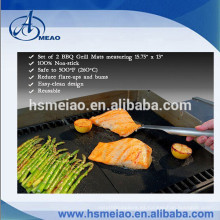 100% antiadherente fácil de limpiar Teflon barbacoa mat grill