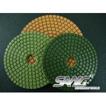 Almohadillas de pulido del diamante mojado flexible de alta calidad (SA-064)