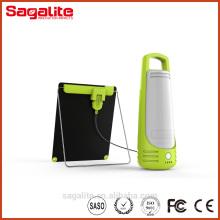 900lm Portable Li batería recargable solar camping luz