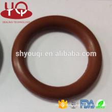 AS568 / JIS / GB tamaños estándar y no estándar viton FKM junta tórica de caucho Junta tórica plana