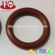 AS568/JIS/GB standard and non-standard sizes viton FKM rubber o ring Flat O-Ring Gasket