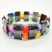 01B5002-4/new products for 2013/hematite spacer bracelet jewelry/hematite bangle/magnetic hematite health bracelets