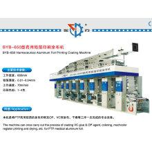 Machine de revêtement et d'impression en feuille d'aluminium de pharmacie Df