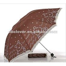 Werbung Werbeartikel Mode Falten Regenschirm