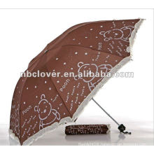 advertising promotional fashion folding umbrella