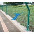 Heißer Verkauf bestätigte PVC beschichteten Curvy geschweißten Stahlmaschendraht-Zaun