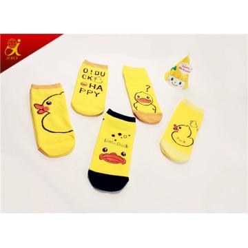 Cartoon Small Yellow Duck Tube Socks Wholesale Kids Sock