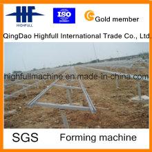 Galvanisierter C-Pflaumen, der auf Solar-Haltewinkel, C-Kanal-Stahl verwendet wird