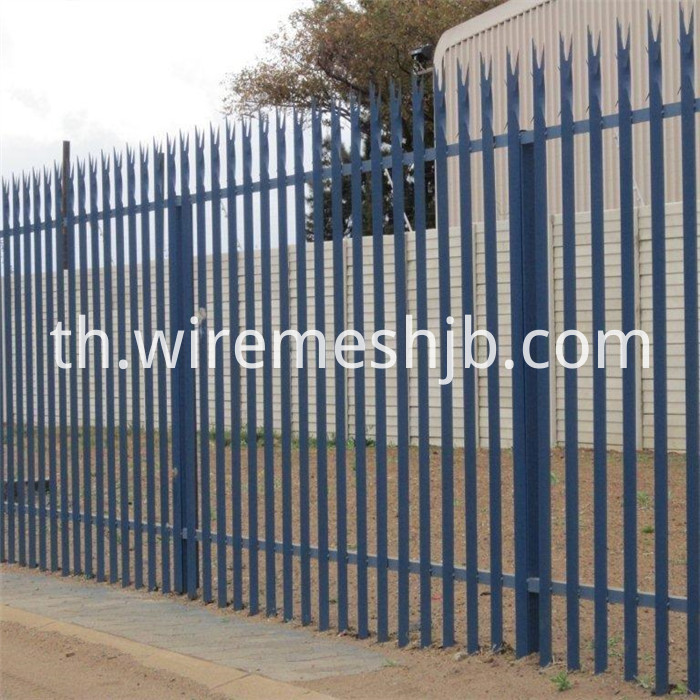 High Security Palisade Fence Panels