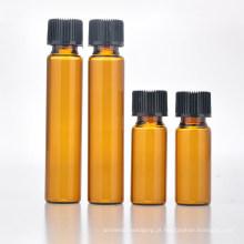 Frasco de vidro pequena medicina (nbg16)