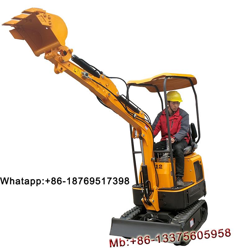 1.2 ton mini crawler excavator