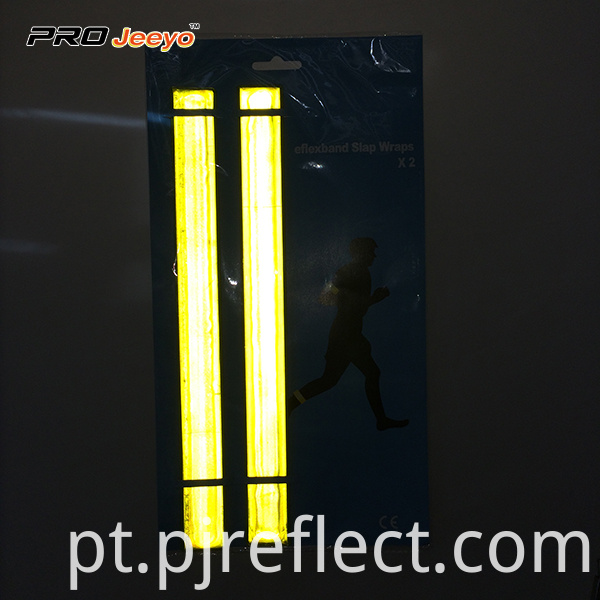 Reflective Pvc Slap Warp Set With 2 Pcs Wb Sws001