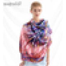 100% lenços de seda pura da tela do lenço lenço tecido da senhora por atacado