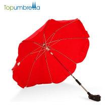 Paraguas del cochecito de bebé del cochecito de niño del paraguas de 14 pulgadas 8 costillas