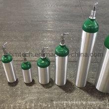 Medical/Industrial Aluminum Oxygen Gas Cylinders 10L