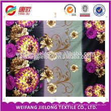 100% polyester 3d impression sur tissu à weifang