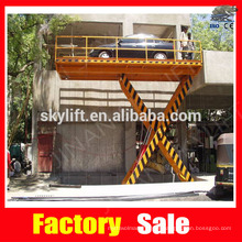 scissor car lifting equipment