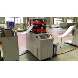 Heat Transfer Fin Stamping Machine and Related Fin Tooling Die Set
