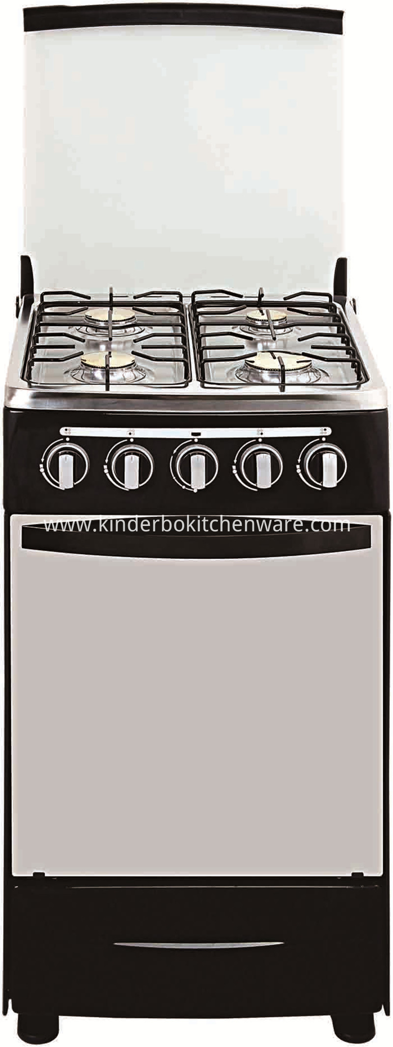 Stainless Steel Gas Cooking Range European 6 Burner Gas Stove with Gas Oven