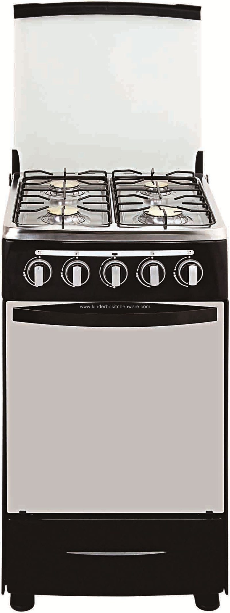 S/S Gas Cooking Range European 6 Burner Gas Stove with Oven