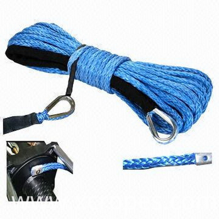 Synthetic Winch Rope, Various Colors are Available
