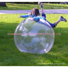 Approved Air Pump Durable Inflatable Water Walking Ball / Dancing Ball For Playground