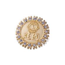 Изготовленный на заказ различных конструкций значков, металлические значки (GZHY-ка-026)