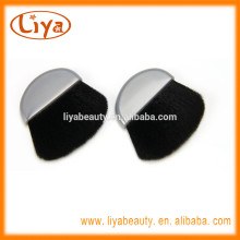 Mini Compact Powder Cheek Brush in Half Moon Shape