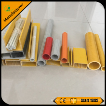 Fabricante de la pultrusión de FRP, precio modificado para requisitos particulares del tubo de GRP coloreado tamaño