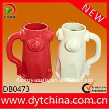 Wholesale color glazed 23OZ Ceramic beer mug