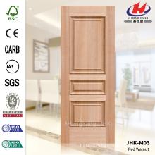 JHK-M03 Массовое производство дорогой тисненой древесины MDF из красного ореха
