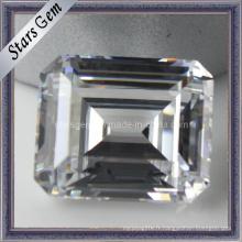 Aaaaa Emerald Cut Gemstone Loose Beads