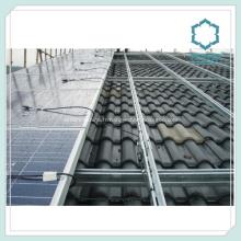 Profilés en aluminium extrudé pour Rails de panneau solaire