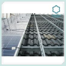 Perfis extrudados de alumínio para Painel Solar Rails