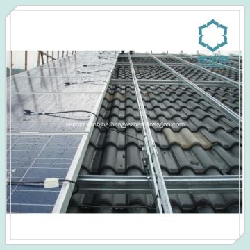 Extruded Aluminum Profiles for Solar Panel Rails