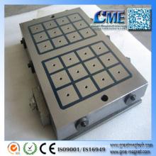 Tipos magnéticos permanentes rectangulares de torno Chuck